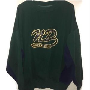 Tops - Notre Dame Vintage Sweatshirt XL